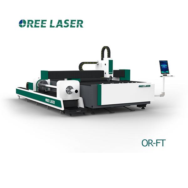 Лазерный станок по металлу с модулем резки труб OR-FT 3015 4 ⋆ OREE LASER